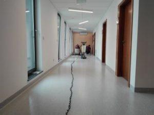 Renowacja wykładzin podłogowych typu tarket gamrat