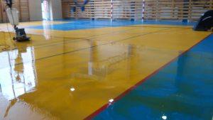 renowacja sal sportowych